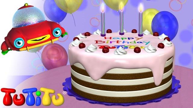 Happy Birthday Cake Images Tutitu Toys Happy Birthday Cake Youtube