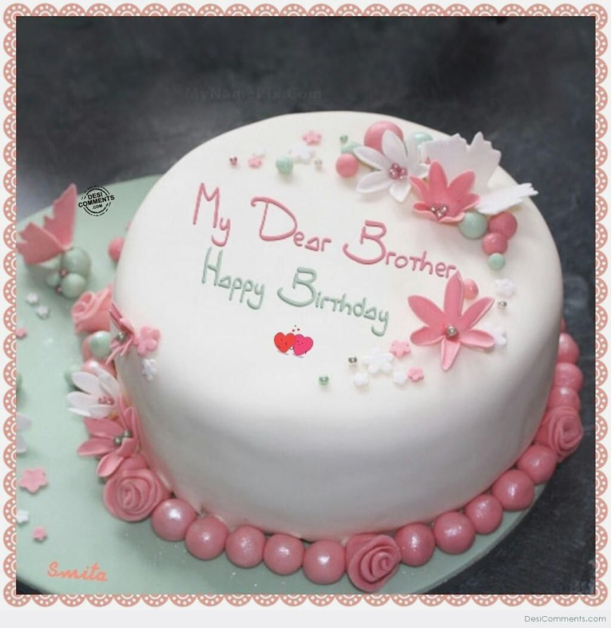 27 Beautiful Image Of Happy Birthday Cake With Name Davemelillo Com