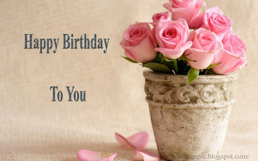 Happy Birthday Flower Cake Happy Birthday Cake And Flowers Images Greetings Wishes Images