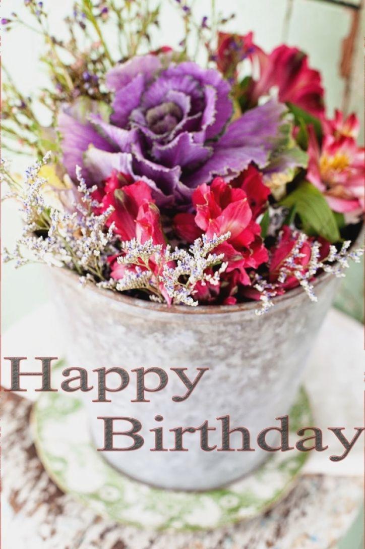 Happy Birthday Flower Cake Happy Birthday Flower Cake Amazingbirthdaycakescf