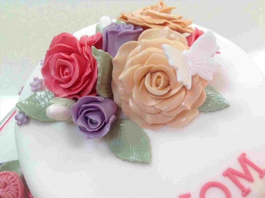 Happy Birthday Flower Cake Lea S Pinterest Rhpinterestcouk Whatsapp Greetings Ecardvideo