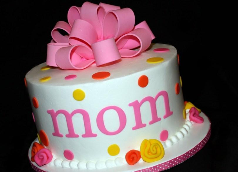 Happy Birthday Mom Cake 7 Birthday Cakes For Mom Photo Moms Birthday Cake Happy Birthday