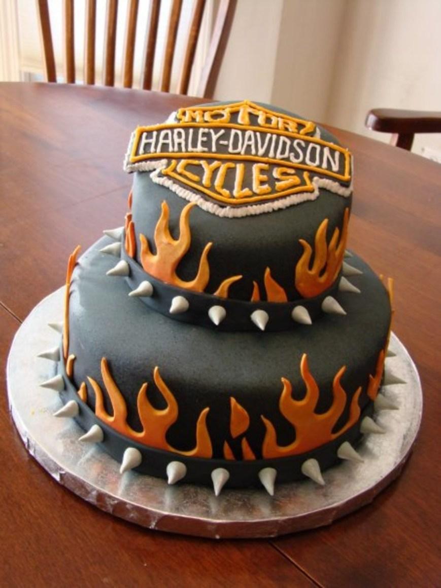 Harley Davidson Birthday Cakes Harley Davidson Birthday Cake Cakecentral