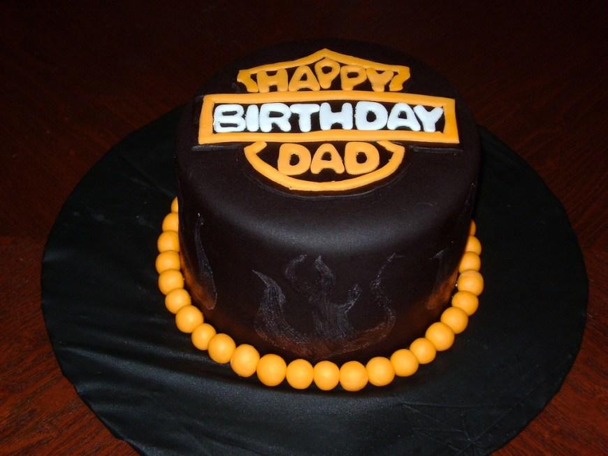 Harley Davidson Birthday Cakes Harley Davidson Birthday Cake Harley Davidson Inspired Bir Flickr