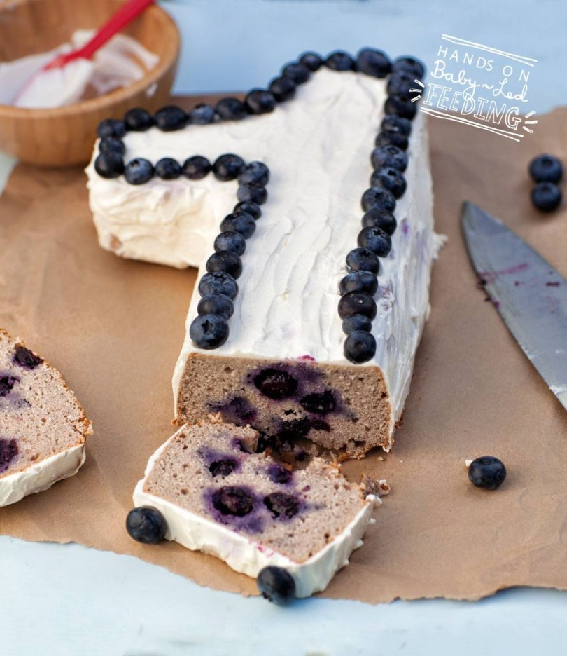Healthy Birthday Cake Blueberry And Apple Smash Cake And A Look Back Ba Led Feeding