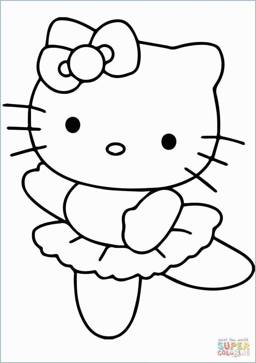 Hello Kitty Color Pages Coloring Page Big Hello Kitty Coloring Pages Printable Page For