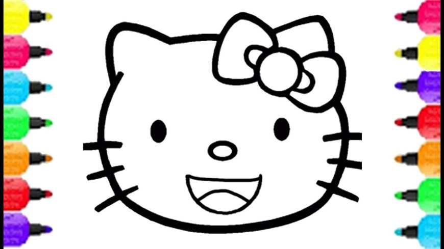 Hello Kitty Color Pages Hello Kitty Coloring Pages Drawing Hello Kitty Teeth Toothbrush