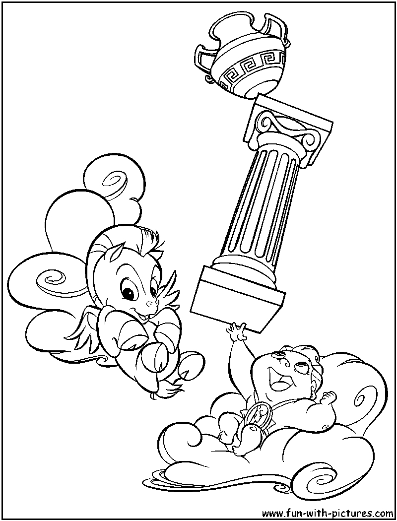 Hercules Coloring Pages Hercules Coloring Pages Free Printable Colouring Pages For Kids To