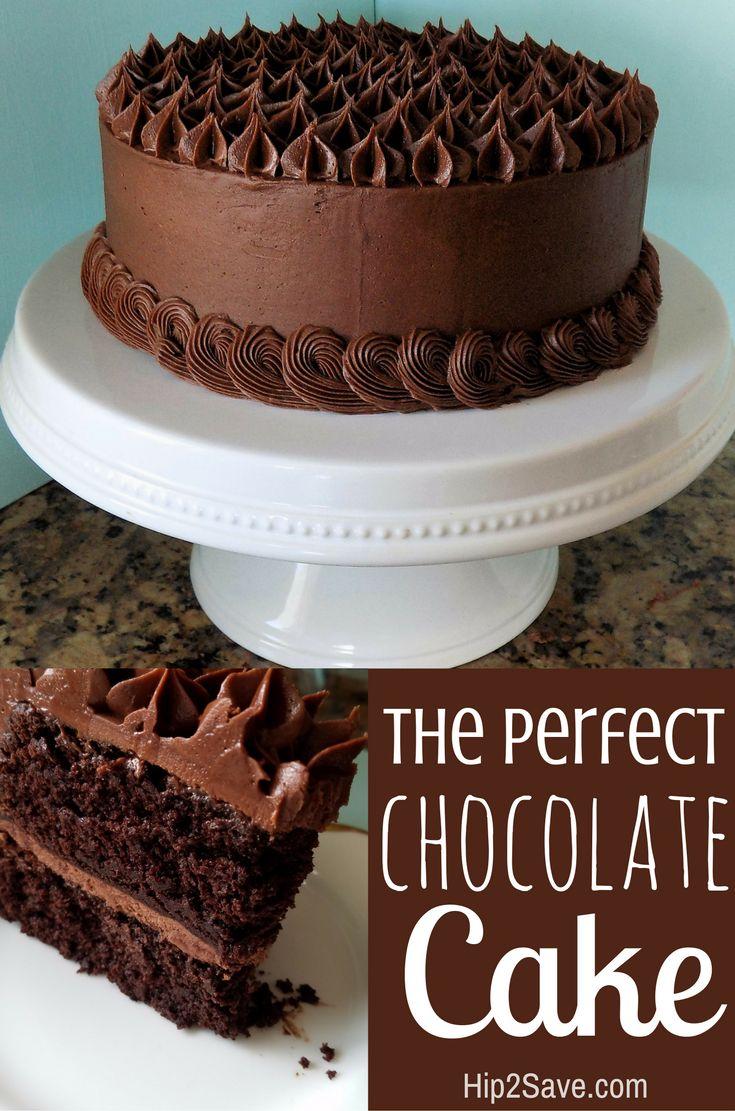 Homemade Birthday Cake Recipe The Best Chocolate Cake Recipe In 2019 Appetizers Brunch