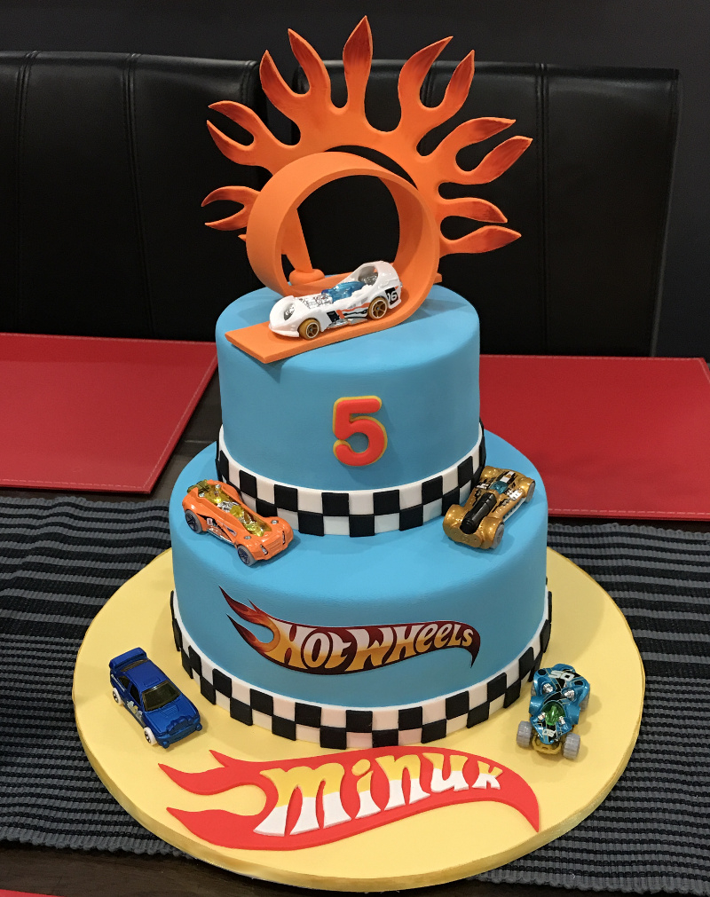 Hot Wheels Birthday Cake Boys Birthday Cakes Christening Cakes The Ponds Sydney