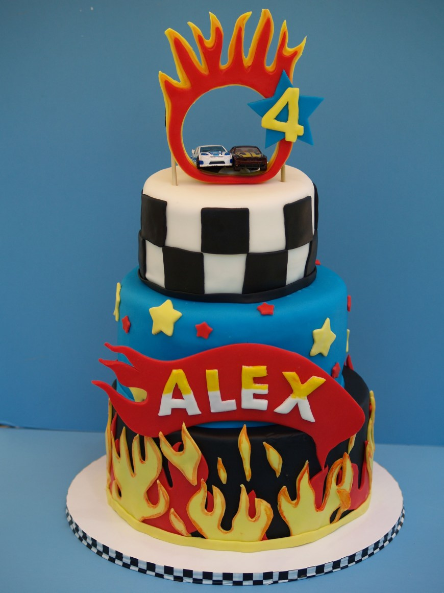 Hot Wheels Birthday Cake Hot Wheels Cake Jackson Birthday Pinterest Hot Wheels Cake