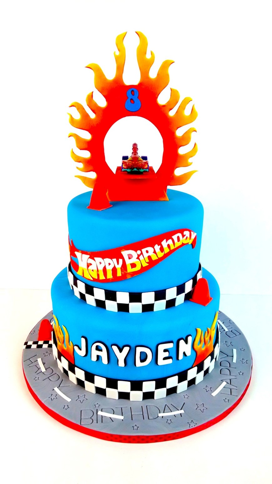 Hot Wheels Birthday Cake Jaydens Hot Wheels Birthday Cake