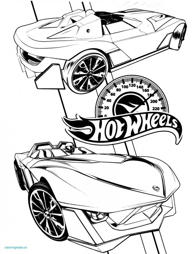 22+ Excellent Image of Hot Wheels Coloring Pages ...