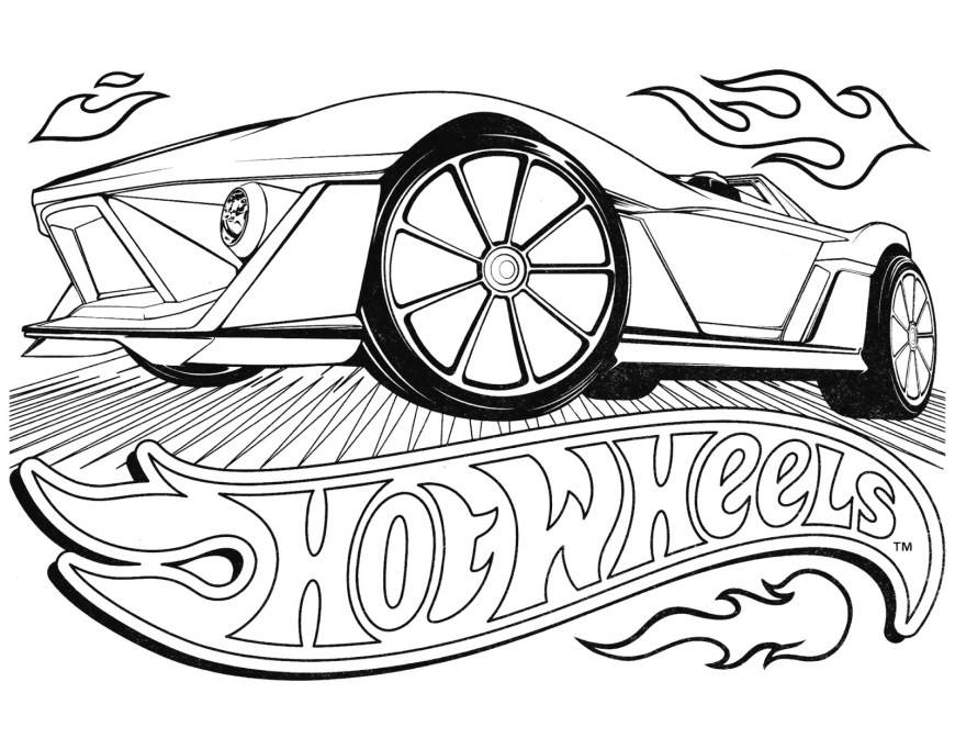 Hot Wheels Coloring Pages Hot Wheels Racing League Hot Wheels Coloring Pages Set 4 Coloring