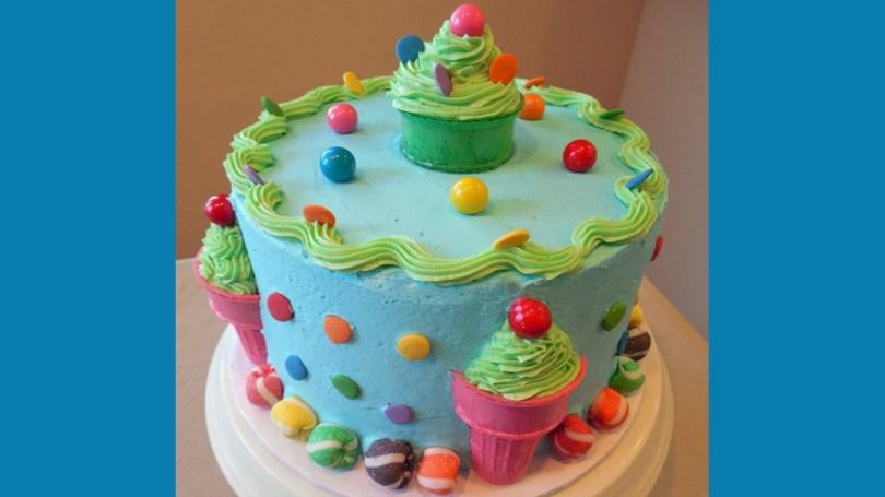 Ice Cream Birthday Cake Birthday Party Ice Cream Cake In Minutes With Jill Youtube