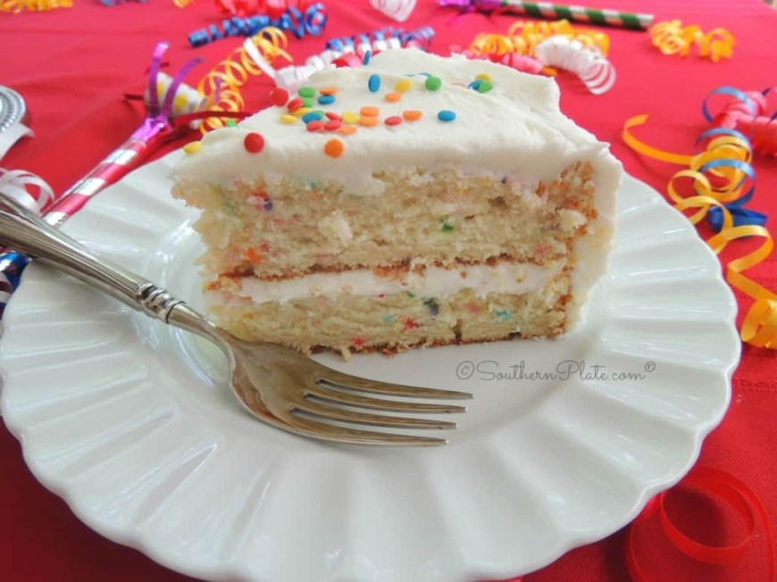 Images Of Birthday Cake Easy Peasy Birthday Cake From Scratch And How Southernplate Hatched