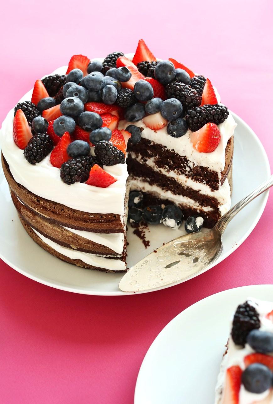 Images Of Birthday Cake Gluten Free Birthday Cake Minimalist Baker Recipes