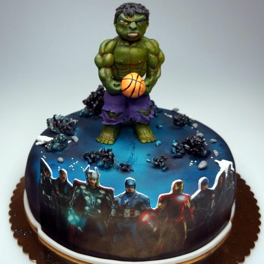Incredible Hulk Birthday Cake Birthday Cake Hulk London Childrens Birthday Cakes In London