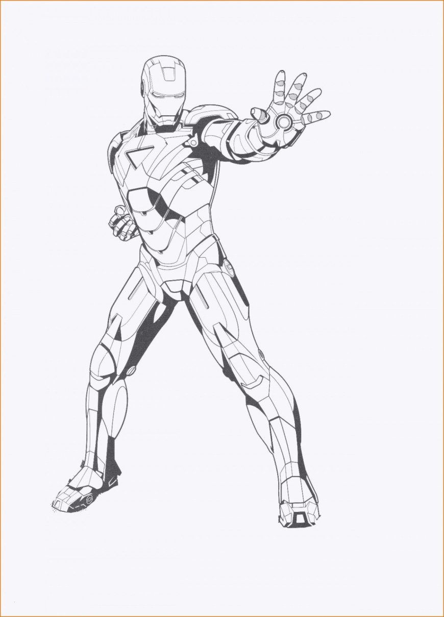 Iron Man Coloring Page Iron Man 3 Coloring Pages Inspirational Free Printable Ironman