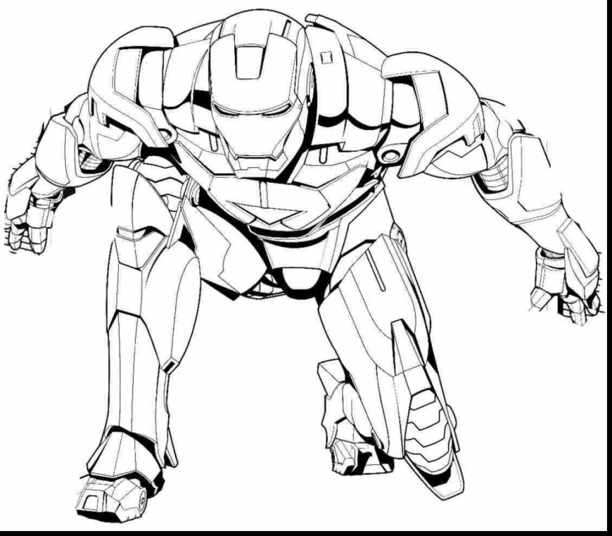 Iron Man Coloring Page Iron Man Coloring Pages Anyingmei