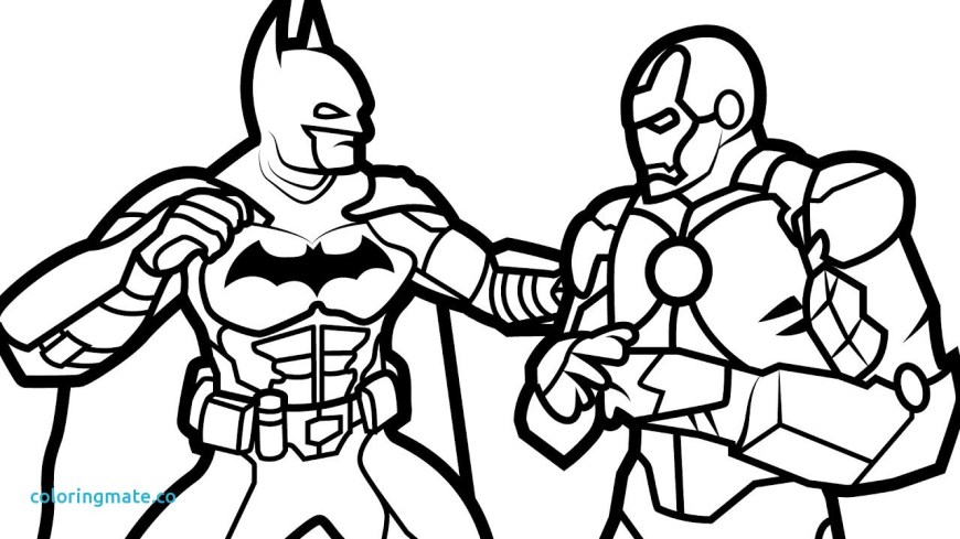 Iron Man Coloring Page Iron Man Coloring Pages To Print Page Pdf Colouring Games Good With