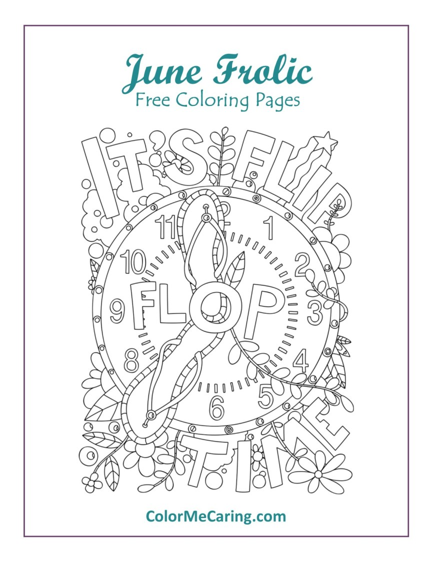 June Coloring Pages June Coloring Pages Get Them Here Color Me Caring