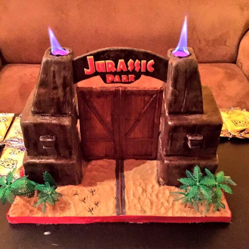 Jurassic Park Birthday Cake Jurassic Park Birthday Cake Imgur