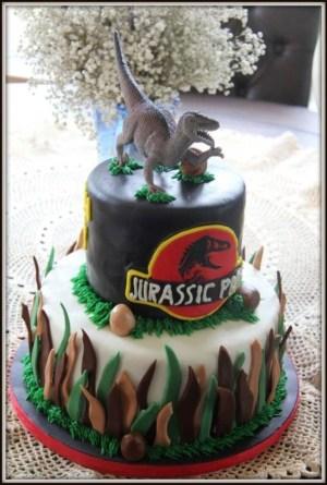 Jurassic Park Birthday Cake Jurassic Park Jurassic World Cakes In 2019 Pinterest Jurassic