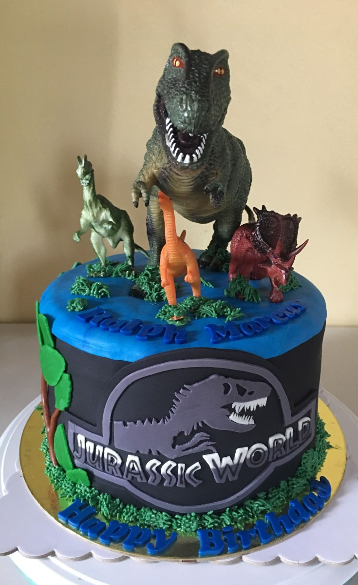 30+ Amazing Photo of Jurassic Park Birthday Cake