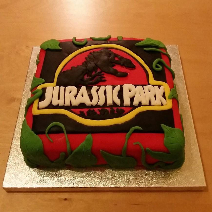 Jurassic Park Birthday Cake My Other Half Made Me A Jurassic Park Birthday Cake Jurassicpark