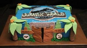 Jurassic Park Birthday Cake Sugar Coated Bakery Lowell Baking Everyday Better