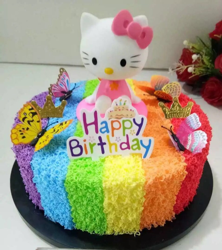 Kitty Birthday Cake Fake Hello Kitty Birthday Cake Design Craft Handmade Craft On