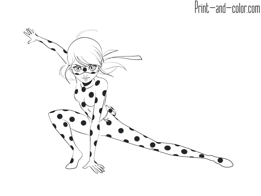 Ladybug And Cat Noir Coloring Pages Miraculous Tales Of Ladybug Cat Noir Coloring Pages Print And