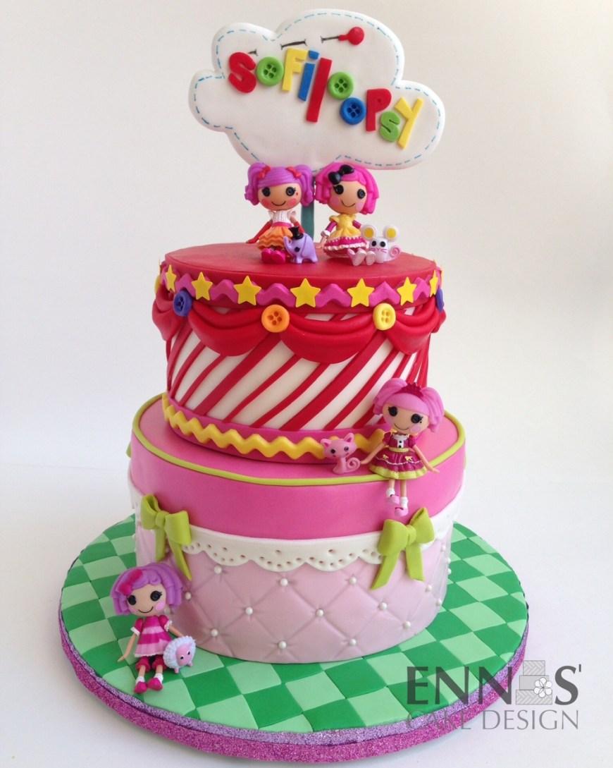 Lalaloopsy Birthday Cake Children Cakes Ennas Cake Design