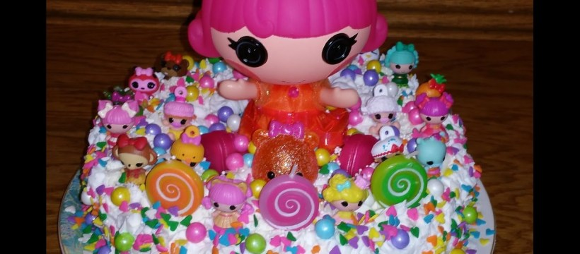 Lalaloopsy Birthday Cake Lalaloopsy Birthday Cake And Cupcakes Youtube
