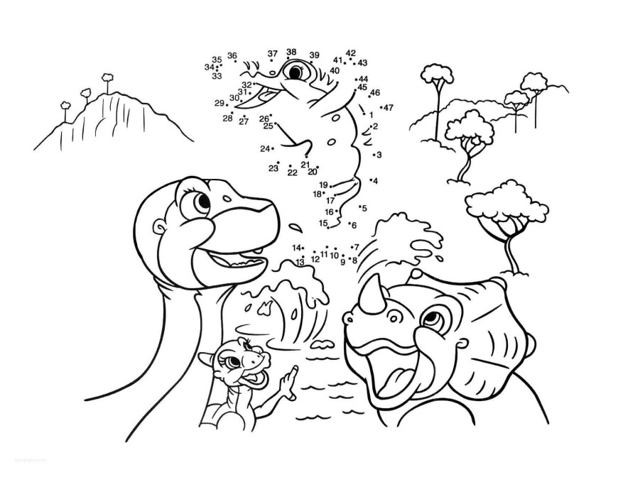 Land Before Time Coloring Pages Land Before Time Characters Colouring Pages Ausmalbilder Dinosaurier