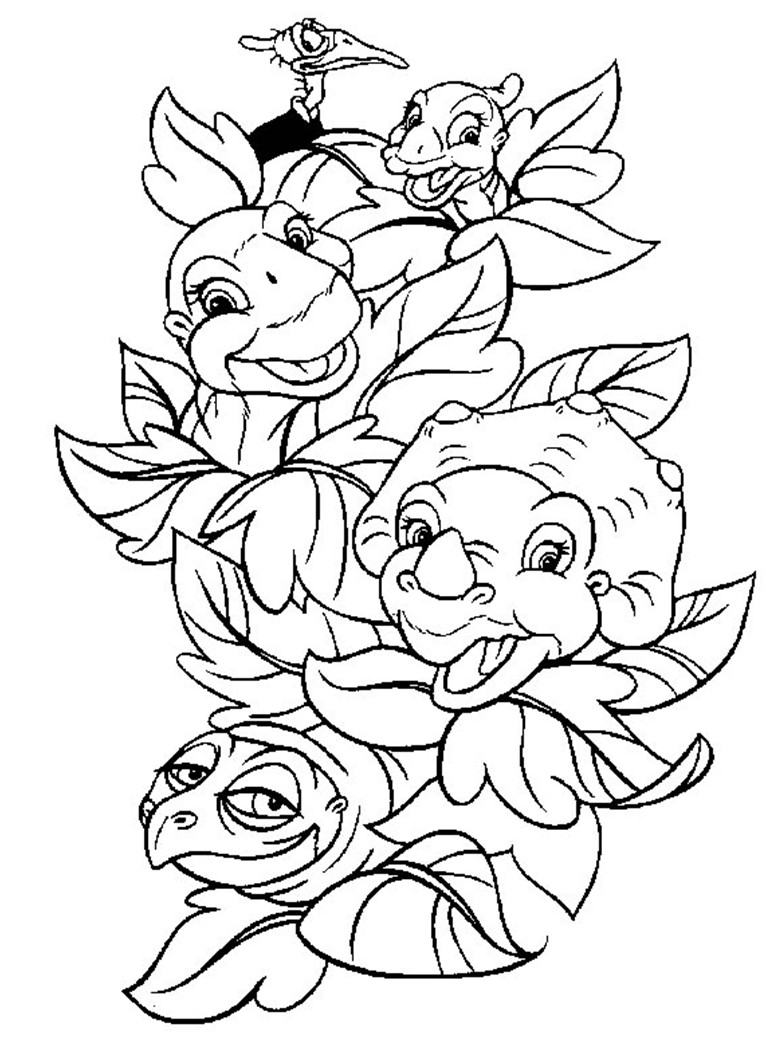 Land Before Time Coloring Pages Land Before Time Coloring Pages 10 Wiim Coloring Page