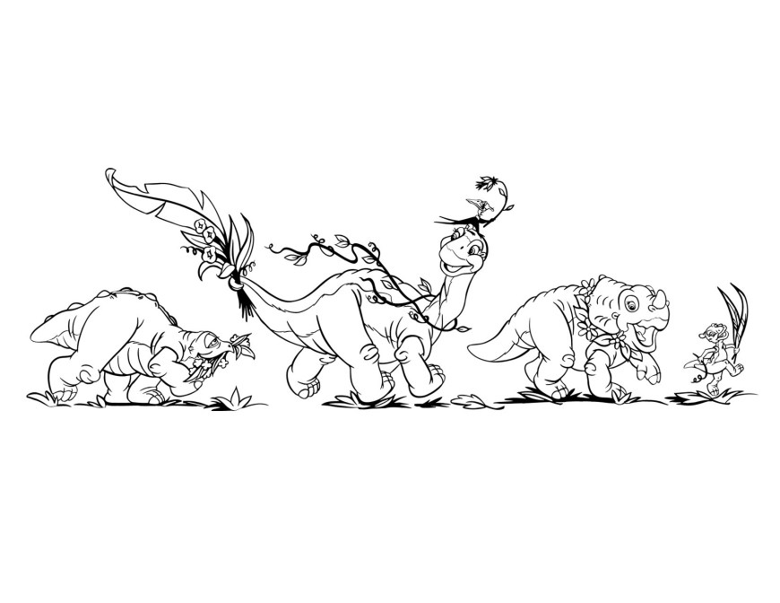 Land Before Time Coloring Pages The Land Before Time Coloring Pages Chronicles Network