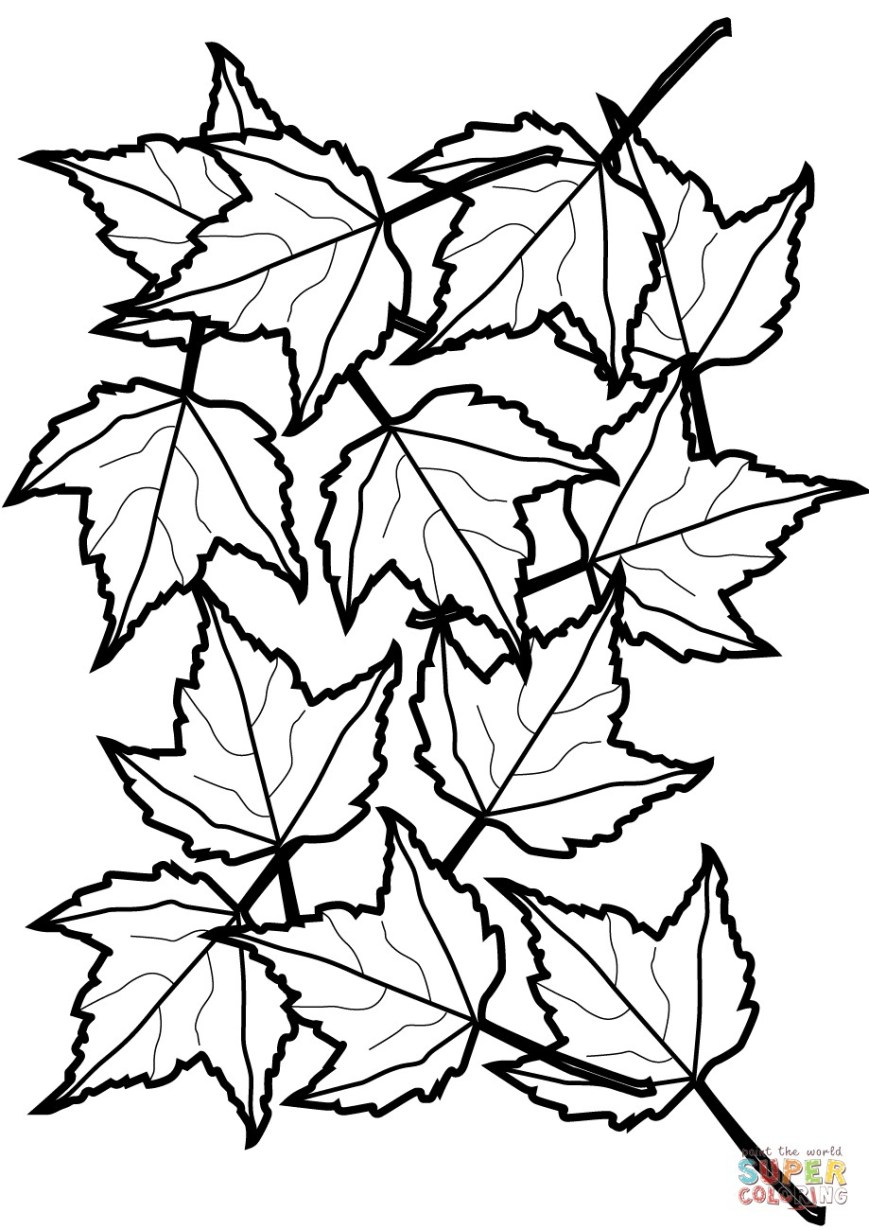 Leaf Coloring Pages Leaf Coloring Page Final Ia Pages Telematik Institut