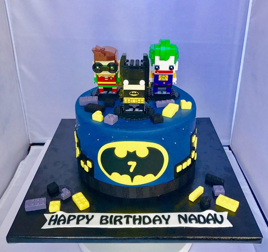 Lego Birthday Cake Batman Lego Birthday Cake Chefnessbakery