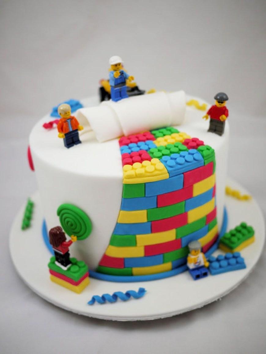 Lego Birthday Cake Lego Birthday Cake Kinder Geburtstag Pinterest Cake Lego Cake