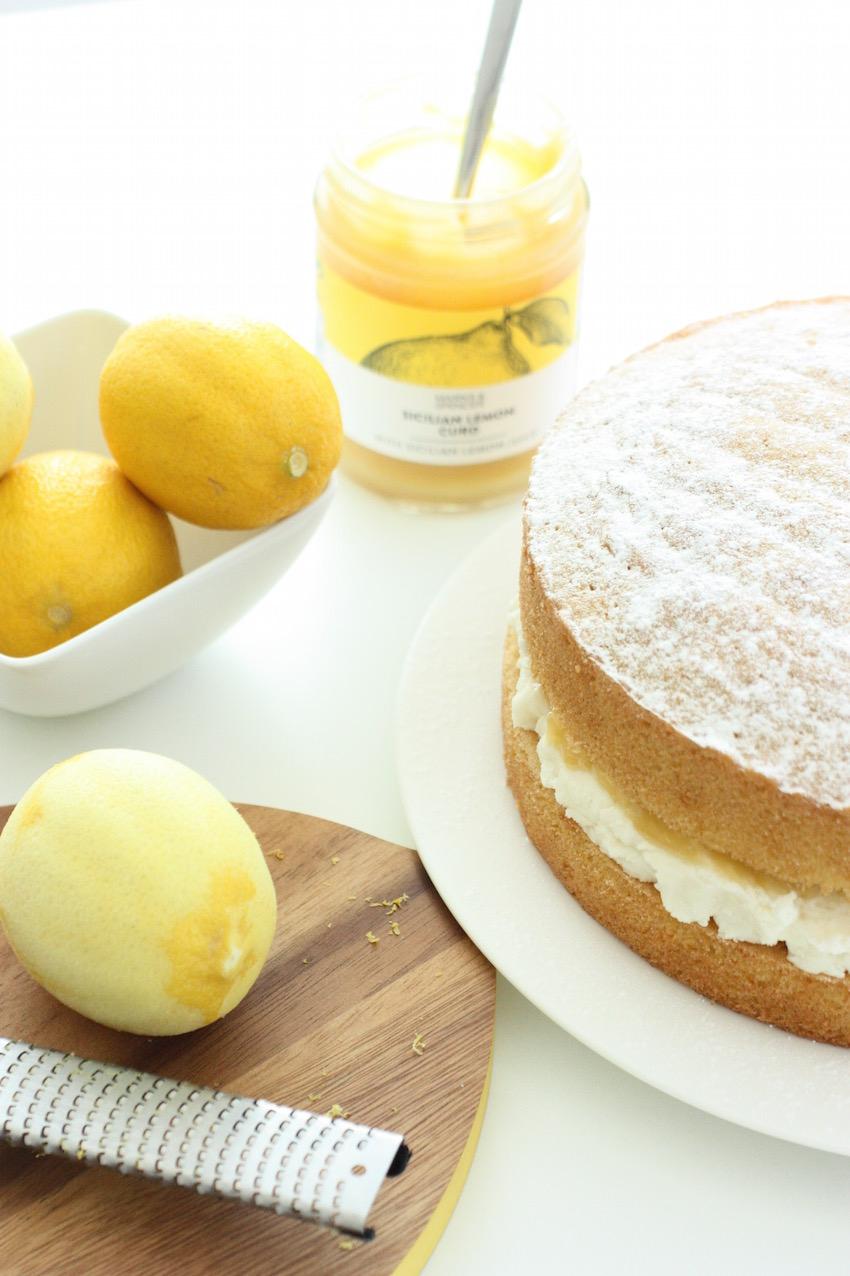 Lemon Birthday Cake Lemon Layer Cake And Birthday Celebrations Marmalade And Me