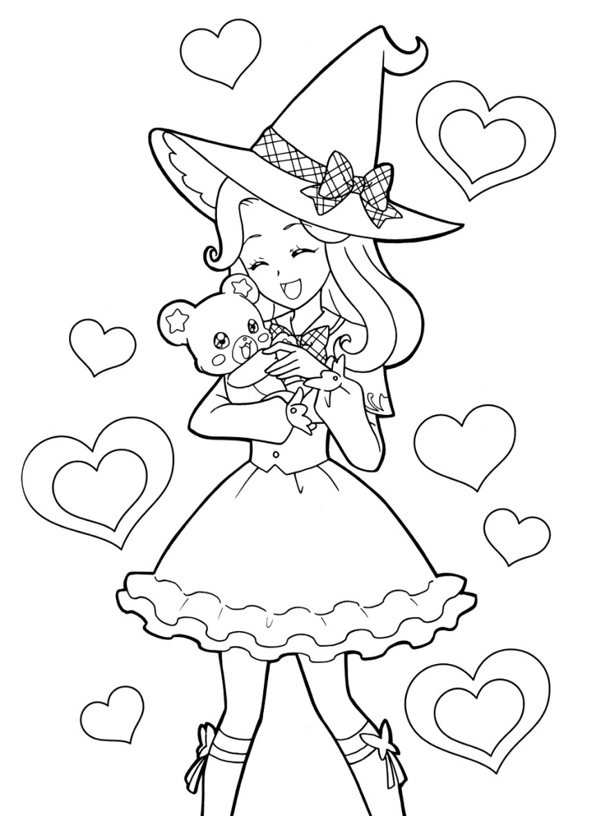 Little Girl Coloring Pages Little Girl Coloring Pages Download Free Coloring Book