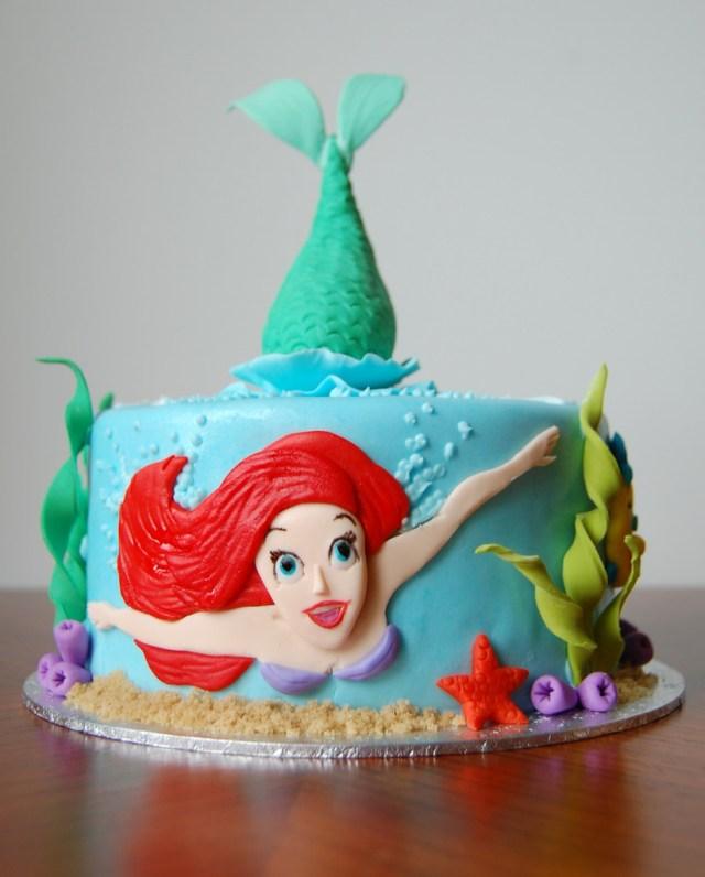 Little Mermaid Birthday Cake Hayleys Little Mermaid Birthday Cake Charmchang Flickr