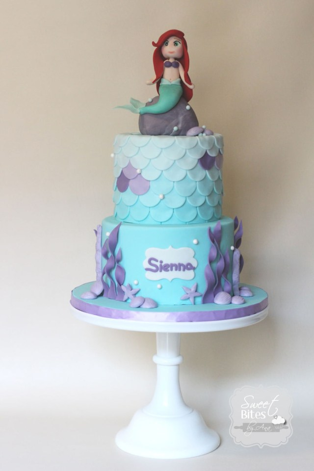 Little Mermaid Birthday Cake Little Mermaid Birthday Cake Cakecentral