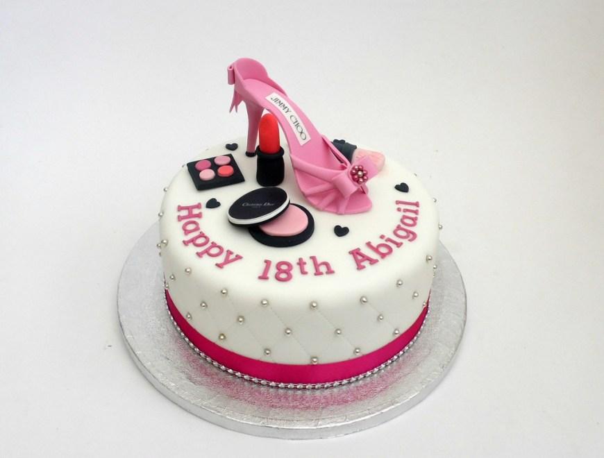 Makeup Birthday Cake Jimmy Choo Make Up 18th Birthday Cake Melissa Rayner Flickr