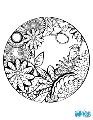 Mandala Coloring Page Mandala Coloring Page Coloring Pages Hellokids