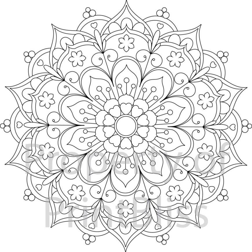 Mandalas Coloring Pages Mandala Coloring Pages Printable Ausmalbilder Bilder Zum Ausmalen