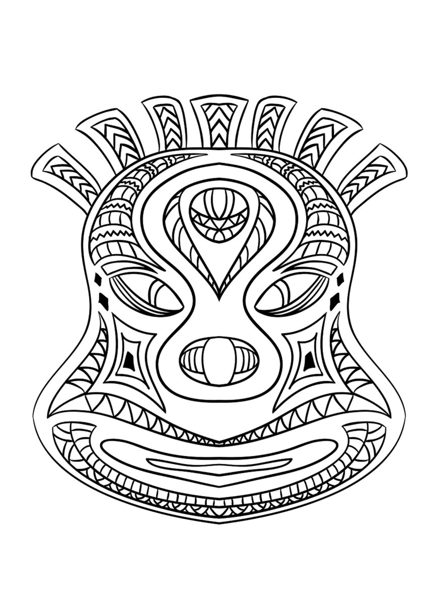 Mask Coloring Pages Masks For Kids Masks Kids Coloring Pages