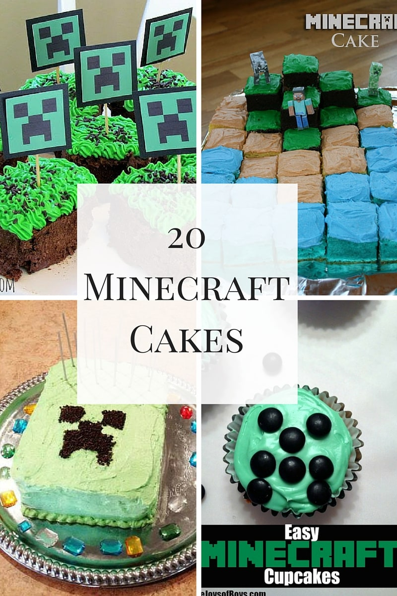 Minecraft Birthday Cake Ideas Awesome Minecraft Cakes For A Spectacular Birthday Party